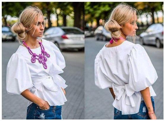 Шьем блузку (7 фото) - картинка