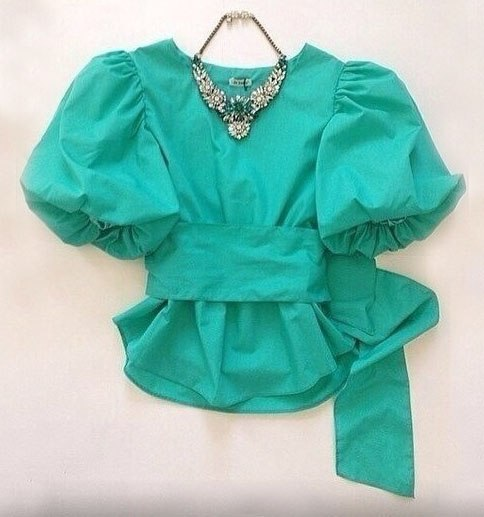 Шьем блузку