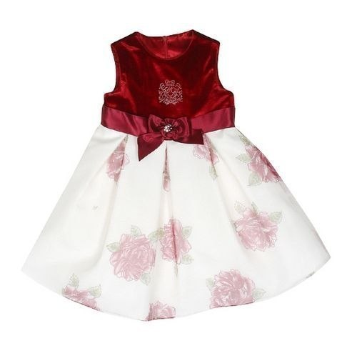 Шьем нарядное платье для девочки. Выкройка…. (5 фото) - картинка