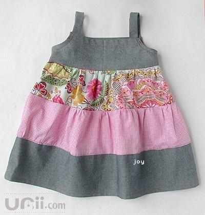 Шьем платья для девочек. Выкройки.