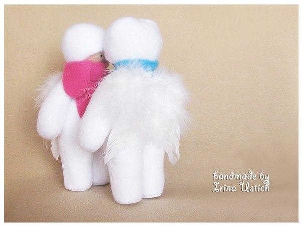 Выкройка маленькой куклы. Автор Ирина Устич… (6 фото) - картинка