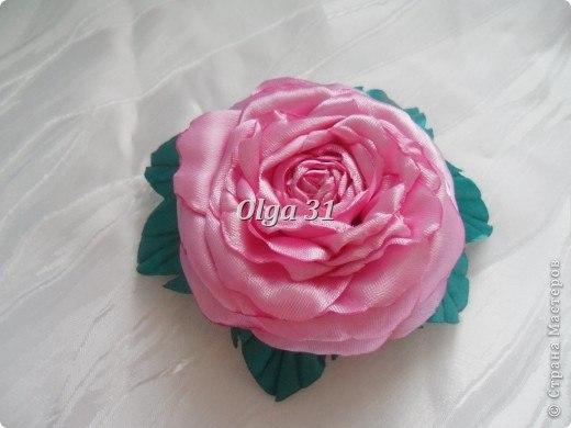 Объемная роза. Мастер-класс (9 фото) - картинка