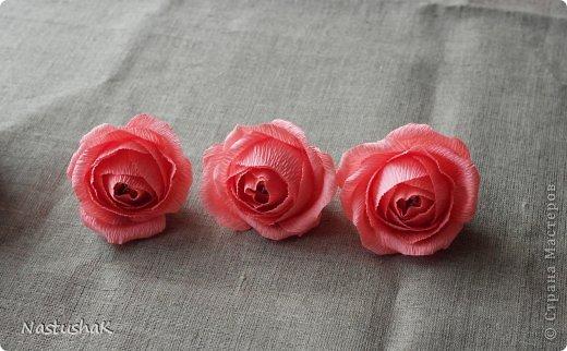 Конфетная роза из гофрированной бумаги. Мастер-класс… (9 фото) - картинка