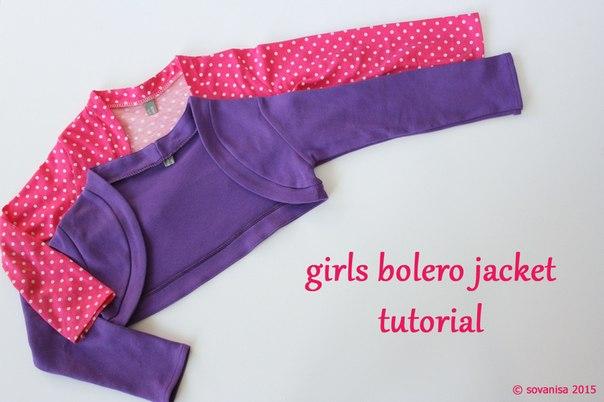 Шьем болеро для девочки (9 фото) - картинка