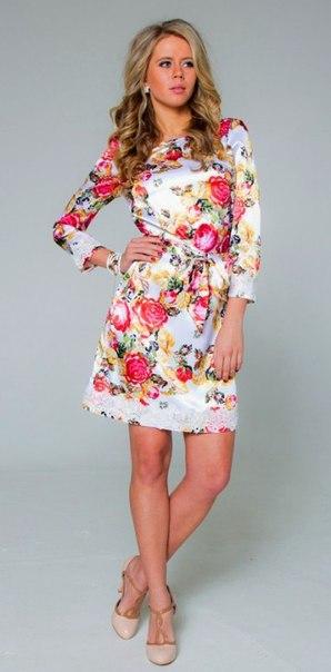 Простая выкройка летнего платья (2 фото) - картинка