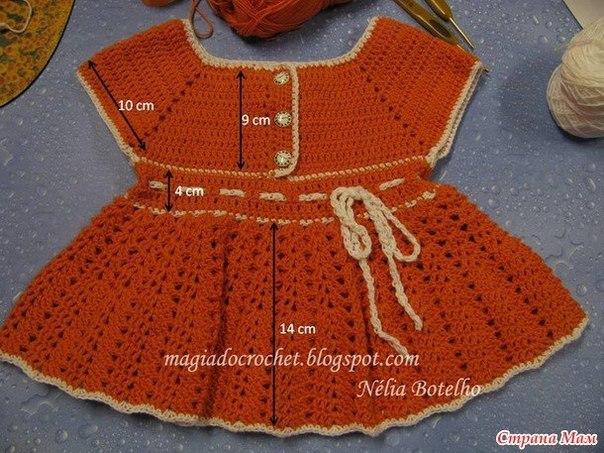 Платье для девочки. Мастер-класс