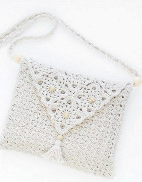 Летняя сумочка крючком (3 фото) - картинка