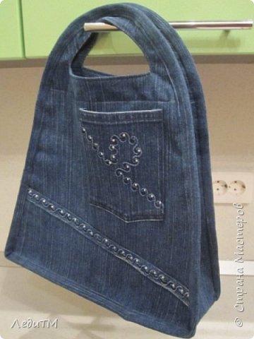 Сумка из старых джинсов. Мастер-класс (9 фото) - картинка