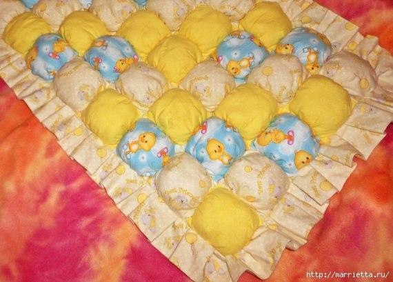 Шьем коврик для малышей (7 фото) - картинка