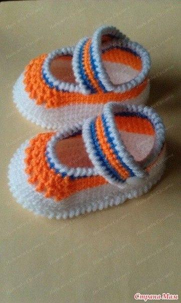 Туфельки Оранжевое настроение (9 фото) - картинка