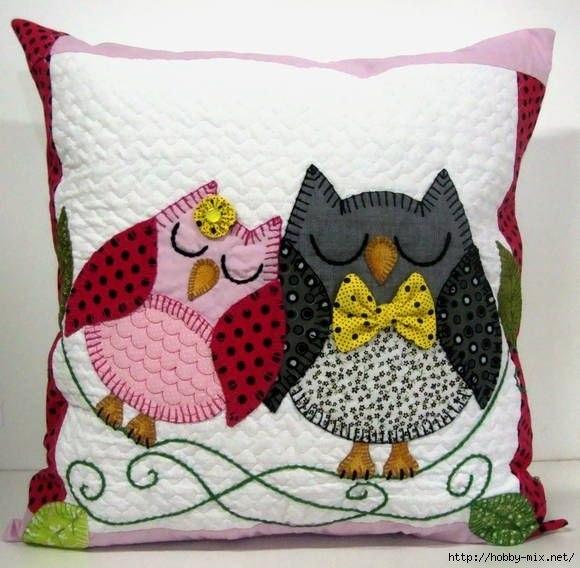Декоративные подушки. Идеи для вдохновения…. (10 фото) - картинка