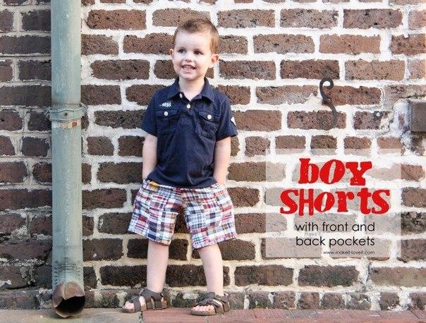 Шортики для мальчика. Мастер-класс (9 фото) - картинка