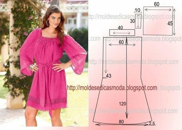Шьем летние платья (5 фото) - картинка