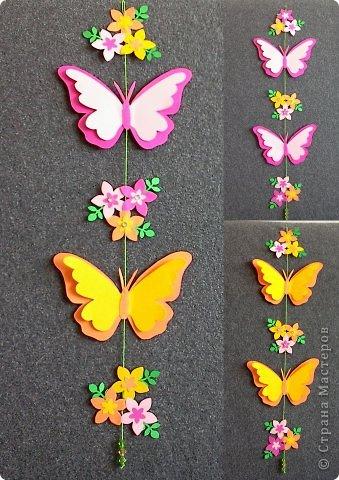 Мобиль — бабочки. (9 фото) - картинка