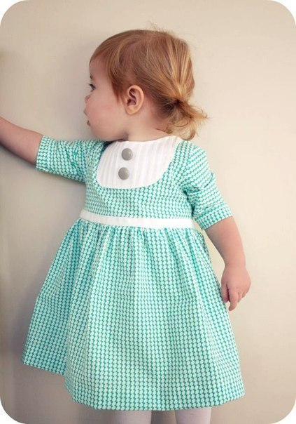 Шьем платье для девочки (9 фото) - картинка