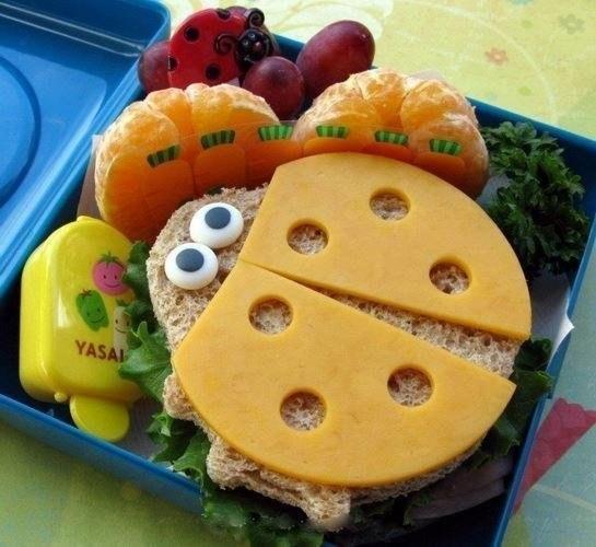 Идеи детских завтраков (5 фото) - картинка