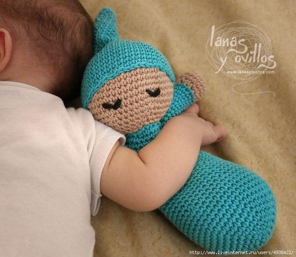 Лялка сплюшка для малышей. Описание (2 фото) - картинка