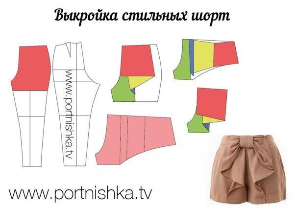 Моделируем брюки и шорты