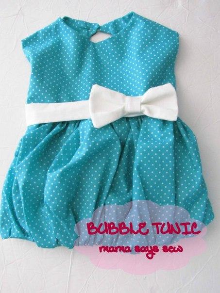 Шьем стильное платье для девочки (10 фото) - картинка