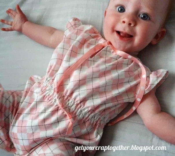 Боди для малыша. Выкройка (9 фото) - картинка