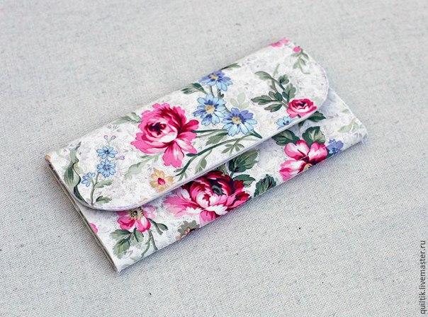 Мастер-класс: шьем текстильный кошелек...