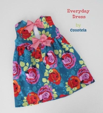 Платье для маленькой модницы. (9 фото) - картинка