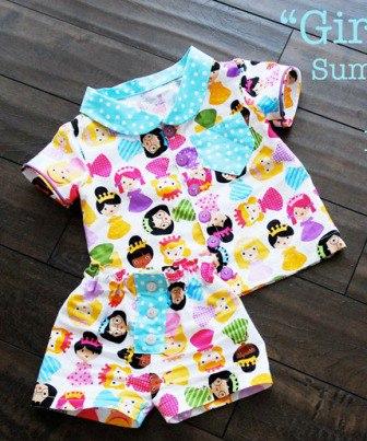Шьем пижаму для малышей (10 фото) - картинка