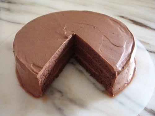 Шоколадный бисквит (1 фото) - картинка