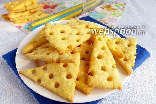 Сырные крекеры (9 фото) - картинка