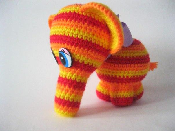 Clase magistral: arco iris gancho elefante