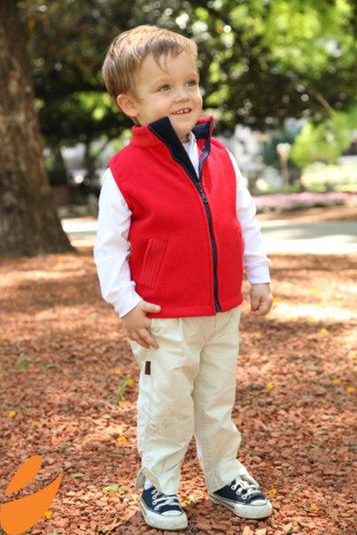 Шьем теплый жилет для мальчика (9 фото) - картинка