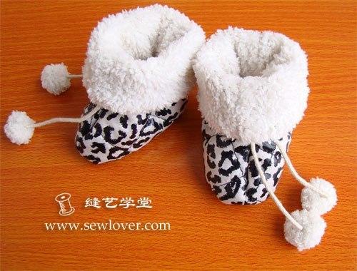 Шьем пинетки ботиночки для малышей (9 фото) - картинка