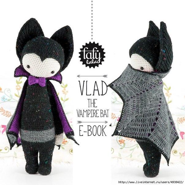 Летучая мышь — вампир Влад.