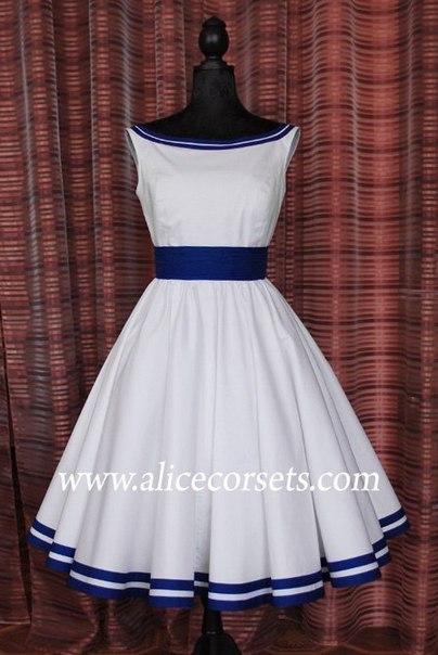 Выкройка платья белая лодочка (8 фото) - картинка