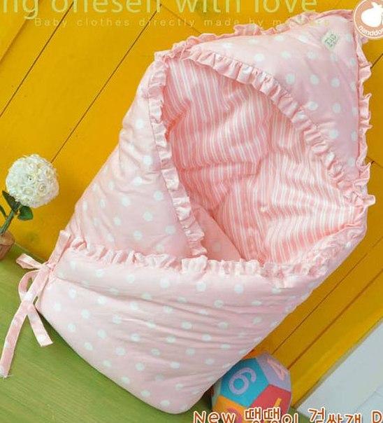 Шьем одеялко-конвертик для малышей