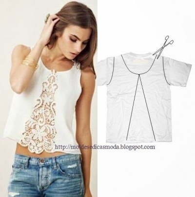 Идеи переделок одежды (7 фото) - картинка