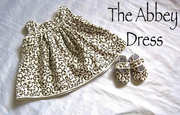 Шьем платье для малышки. Мастер-класс. (9 фото) - картинка