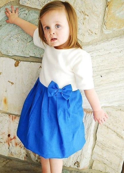 Шьем платье для девочки. Мастер-класс. (9 фото) - картинка