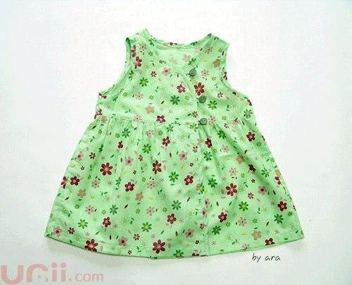 Шьем платья для девочек. Выкройки. (9 фото) - картинка