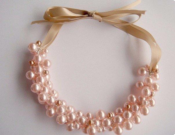 Ожерелье из бусин своими руками