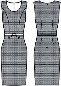 Шьем платья (7 фото) - картинка