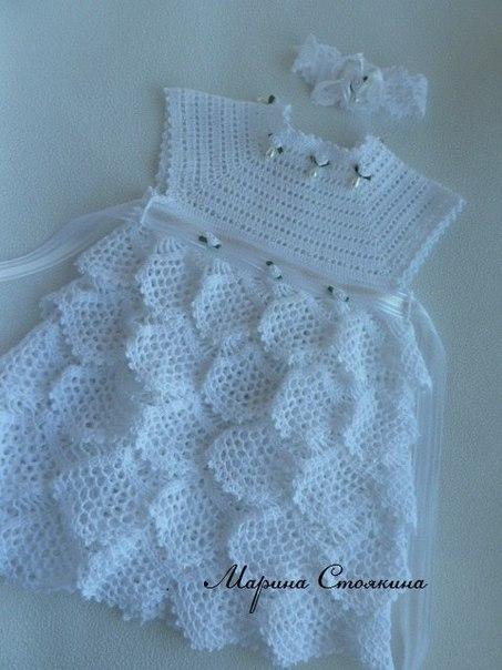 Нарядное платье для маленькой принцессы…. (6 фото) - картинка