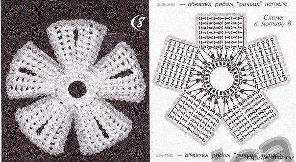 Вязание тунисским крючком мк