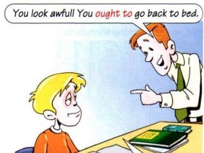 Модальный глагол: Ought to английском