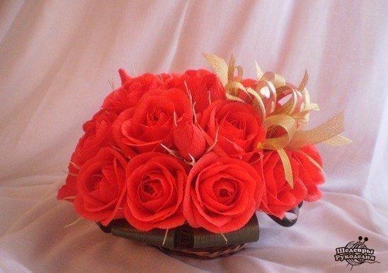 МК роза (9 фото) - картинка