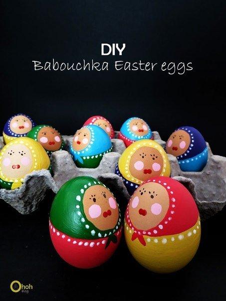 Оригинальный декор пасхальных яиц (6 фото) - картинка