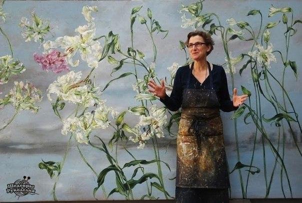 Творческая мастерская художницы Клер Баслер Claire Basler… (10 фото) - картинка