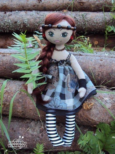 Мастер-класс по изготовлению куклы. (8 фото) - картинка
