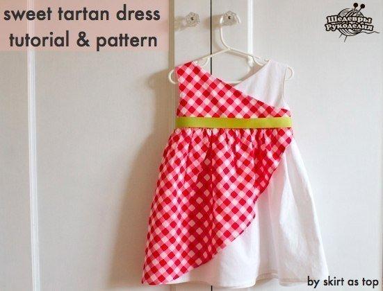 Платье для маленькой принцессы. (9 фото) - картинка