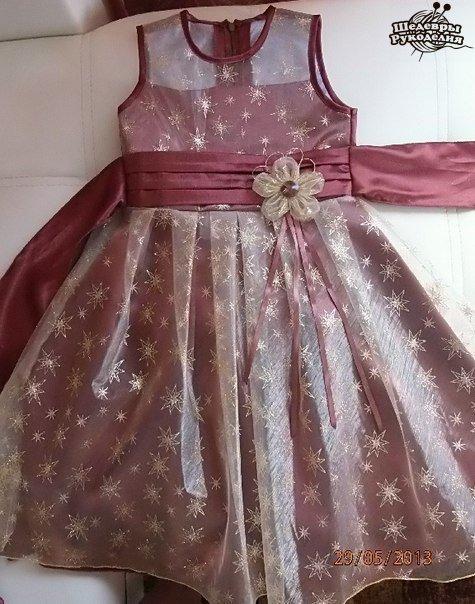 Шьем шоколадное платье. (9 фото) - картинка